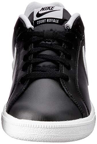Hombre white Zapatillas Royale black Para De Court Nike Gimnasia Negro blanco OYvfYwTq