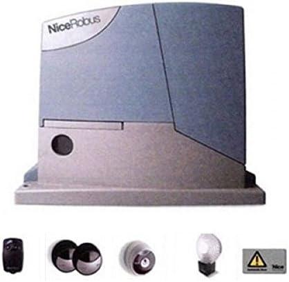 Nice RDKCE - Kit para Puertas correderas hasta 400 kg, Puerta máx. 6 m: Amazon.es: Hogar