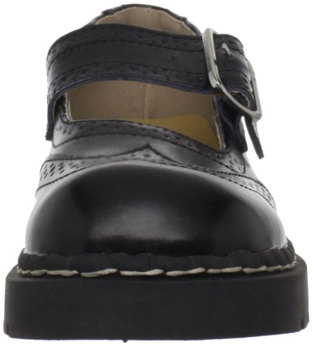 Mary Jane Women's T Brogue Black Flat K U qgIAU