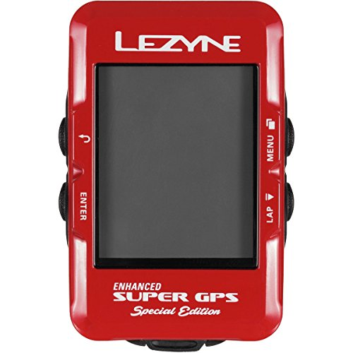 LEZYNE Super GPS Special Edition Red