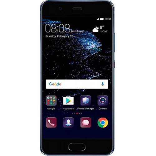 Huawei P10 Plus VKY-L29 6GB RAM / 128GB ROM 5.5-Inch 4G LTE Dual SIM FACTORY UNLOCKED - International Stock No Warranty (BLUE)
