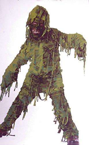 Medium Boy's Swamp Creature Costume Size 8-10 -
