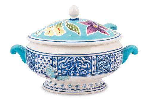 (Courtyard Collection, Tureen with Ladle)