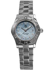 TAG Heuer Womens WAF1419.BA0824 Aquaracer Quartz Blue Mother-of-Pearl Dial Watch
