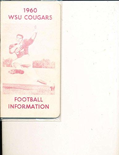 1960 Washington State University Football Media Guide CFBmg36