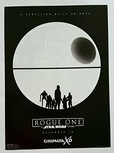 Rogue One: A Star Wars Story Original Promo Movie Poster Cinemark Xd