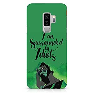 Loud Universe Idiots Mufasah Samsung S9 Plus Case The Lion King Samsung S9 Plus Cover with 3d Wrap around Edges