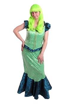 Disfraz de sirena para mujer talla M para disfraz de mejillón ...