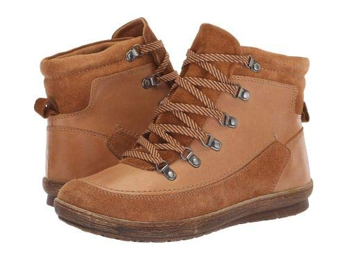 Comfortiva(コンフォーティヴァ) レディース 女性用 シューズ 靴 ブーツ レースアップブーツ Carajean - New Caramel La Mesa/Cognac Cow Suede [並行輸入品] B07GQL2F5L 7.5 M (B)