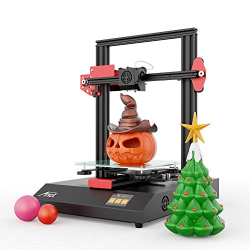 Anet ET4 3D Printer, DIY 3D Printer, Matrix Automatic Levelling with Resume Printing Function, All-Metal 3D Printer with…