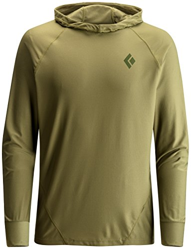Black Diamond Alpenglow Hoody - Men's Burnt Olive Large