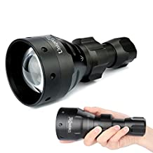 Uniquefire Black UF-1504 940 nm Infrared Led Flashlight 67mm Lens Torch For Nighthunting