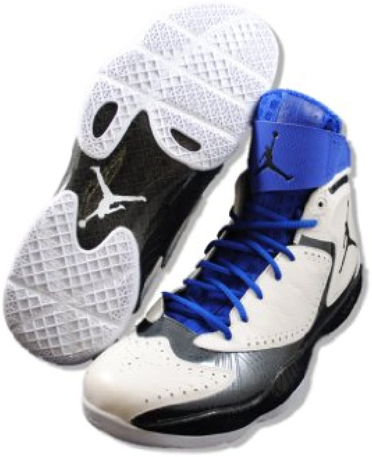 la jordanie 2012 508319 e basketball masculin pointure 13 508319 2012 181, blanc / noir / royal a8700b