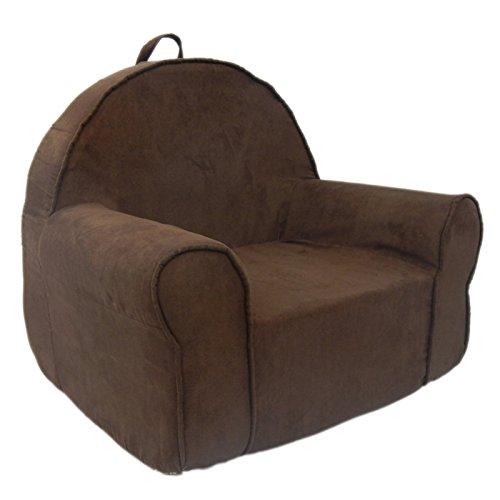Fun Furnishings 60231 My First Kids Club Chair in Micro Suede Fabric, Blue