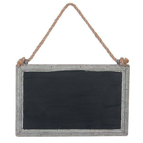 Skalny Rectangle Metal Chalkboard Sign, 11