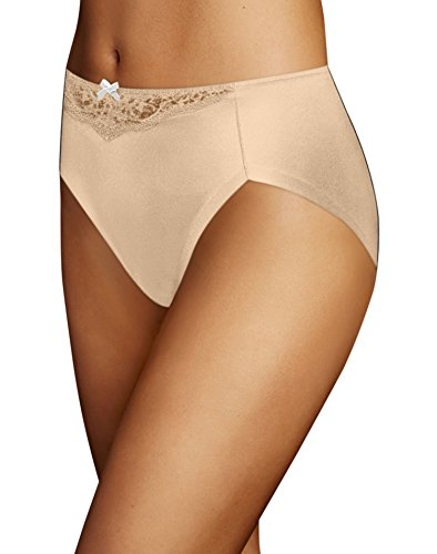 Maidenform Comfort Devotion High-Leg Brief, Latte Lift, 8