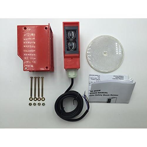 Photo Beam Sensor Garage Door Sensor Gate Opener Sensor Universal