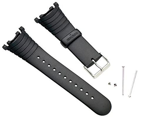 Suunto Wrist-Top Computer Watch Replacement Strap Kit (Vector, Altimax, Mariner, Regatta, D3; Black - Suunto Regatta Watch