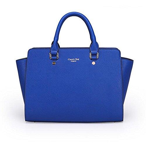 Femme Epaule Sacs Monnaie En Porte Cuir 3 Sacs Newbestyle à Pièces Bleu Sac de main FdwZqnS