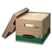 Bankers Box Recycled Stor/File Letter/Legal 12/Carton