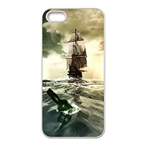 Tall sailing,Pirate Ship series protective case cover For Iphone 4 4S case coverSAIL-021-S4949