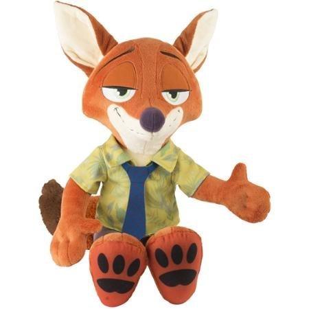Disney Zootopia Nick Wilde Jumbo Plush Stuffed Animal Toy