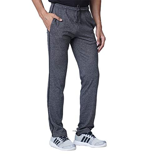 41uDy6Sr9YL. SS500  - WAKE UP COMPETITION Solid Men's Cotton Blend Track Pant