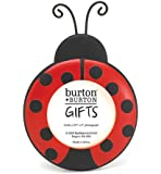 Ladybug Round Picture Frame Adorable Photo Frame by Ladybug Collection