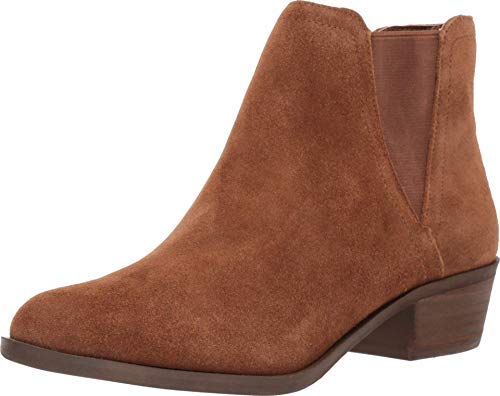 kensie Womens Closed Toe Ankle Fashion Boots, Brown, Size 7.5