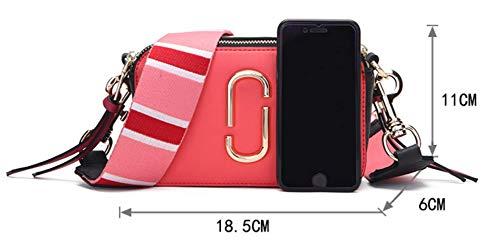 Sacchetti Borsa Personalità Messenger Piccola Di Borsa Apricot Quadrati A Tracolla Bag Moda Casuale qrBw64qRH