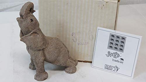 The Herd Martha Carey 3206 Holler Elephant Figurine Collectible ()