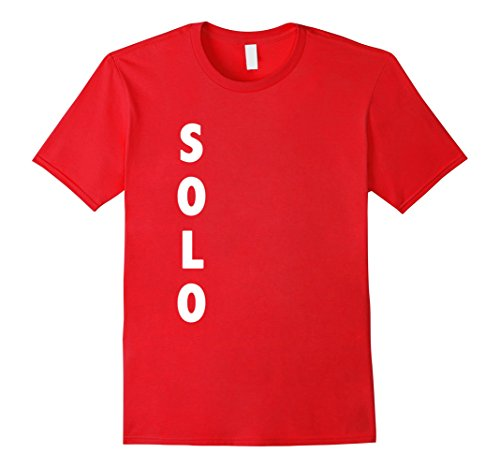 Mens Funny Solo Red Cup Halloween Costume | Beer Drinking Shirt XL Red ()