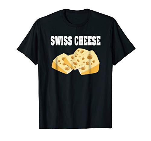 Swiss Cheese Group Halloween Costume T-shirt]()