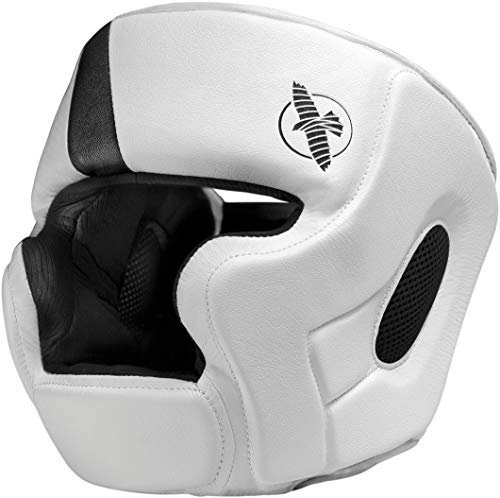 Hayabusa | T3 MMA and Boxing Headgear | Men and Women | White/Black | One Size