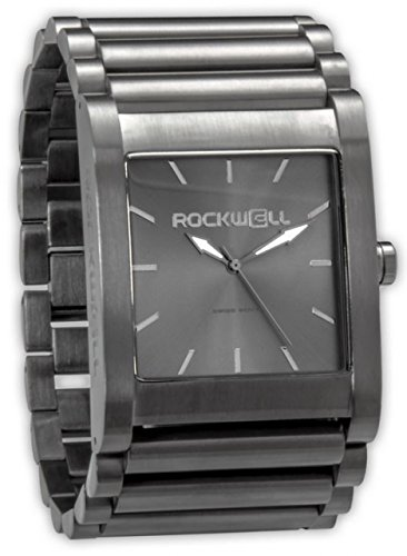 Rockwell Time Men's Rook Dial Watch, Gunmetal Case/Gray by Rockwell Time