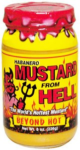 From Hell Habanero Mustard From Hell (Mustard Habanero)