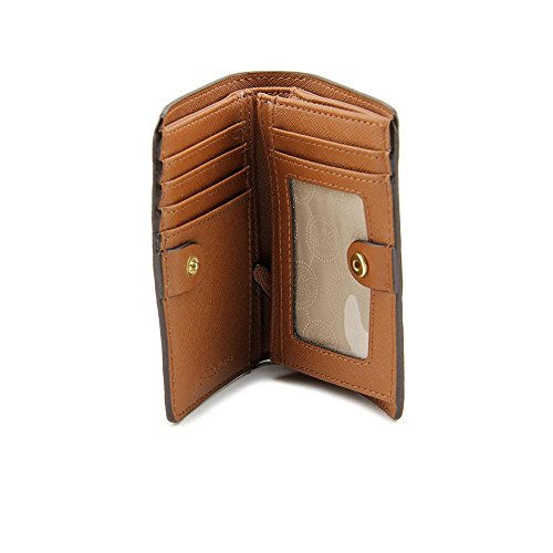 b72da4ec8595 Michael Michael Kors Mk Sig Saffiano Md Slim Wallet Brown/luggage - Buy  Online in UAE. | Accessory Products in the UAE - See Prices, Reviews and  Free ...