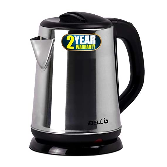 iBELL 1500 W Stainless Steel High Polished Electric Kettle 1