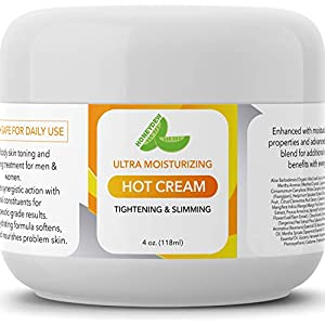 Hot Cream Cellulite Treatment – Belly Fat Burner for Women and Men – Natural Anti Aging Cream with Antioxidants and Essential Oils Rosemary Lavender Aloe – Deep Tissue Massage & Muscle Relaxer 41uE0 bFC6L  Eveline Slim Extreme 4D Liposuction Body Serum, 8.80 Fluid Ounce 41uE0 bFC6L