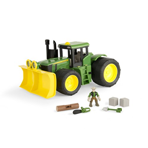 Ertl John Deere Gear Force 4WD Tractor Playset