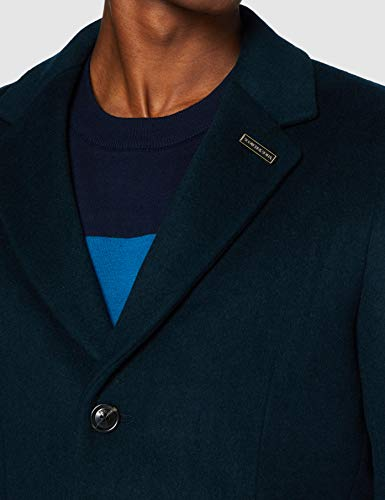 Scotch & Soda Classic Wool-Blend Overcoat Manteau en Laine mélangée Homme