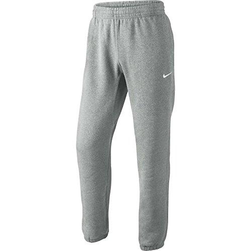 Nike Mens Club Swoosh Cuff Pants Heather Grey