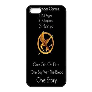 LSQDIY(R) The Hunger Games Catching Fire iPhone 5,5G,5S Custom Case, High-quality iPhone 5,5G,5S Case The Hunger Games Catching Fire