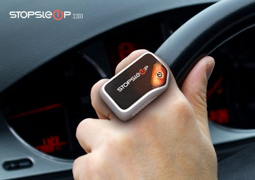 Anti Sleep Alarm for Drivers. Warns up to 5 Minutes Before Drowsiness. Beep and Vibration Doze Alert. Car Truck Safety Driving Warning Device. Stay Awake Nap Detector Technology Alertness System by Stopsleep (Image #5)