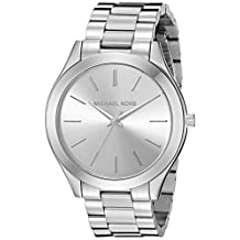 Michael Kors Women's MK3178 Runway Silver Watch