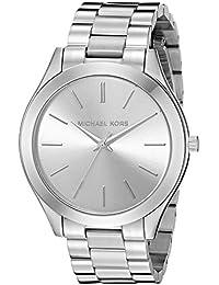 Michael Kors Women's Runway Silver-Tone Watch MK3178