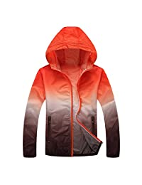 Panegy Unisex Sunscreen Hoodie Jacket Lightweight Drys Quickly Breathable Suit