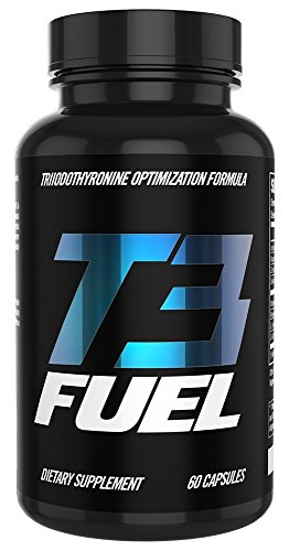 Thyroid Support Supplement with Iodine & Resveratrol - T3 Fuel - Increase Metabolism Naturally - Promotes Weight Loss - Improve Mood & Energy - 30-Day Supply (60 Count) by Superhuman