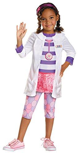 Girls Halloween Costume- Doc Kids Costume Classic Kids Costume Medium (Doc Mcstuffins Costume Size 8)