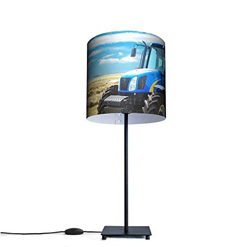 banjado - Tischlampe Büroleuchte Schreibtischlampe Motiv Traktor, Tischlampe mit 10W Leuchtmittel
